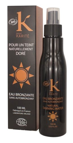 K Pour Karité Natura Tanning Water
