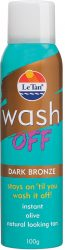 Le Tan Wash Off Dark Bronze 100g