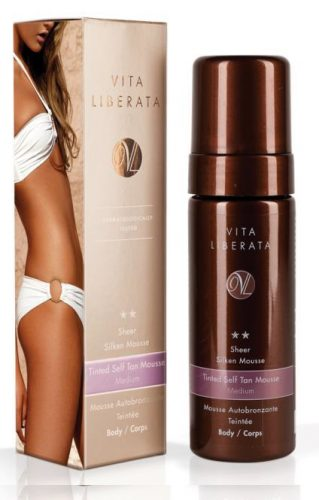 Vita Liberata Tinted Self Tanning Sheer Silken Mousse 100ml