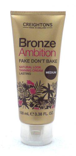 Bronze Ambition Fake Don't Bake Tanning Cream 100ml
