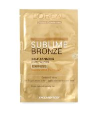 Loreal Paris Sublime Bronze Self-Tanning Express Wipes