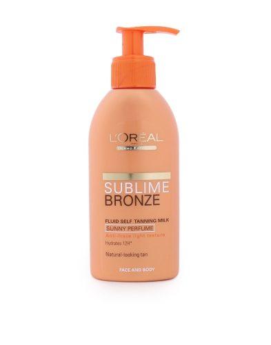 Loreal Paris Sublime Bronze Fluid Self Tanning Milk Face & Body